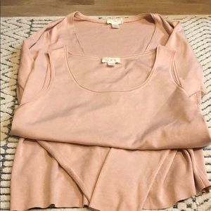 Ann Taylor Sweater Set- Cardigan and Sleeves